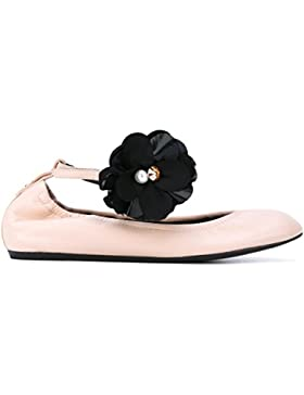 Lanvin Ballerine Donna FWBAPB09EXAAE17 Pelle Rosa