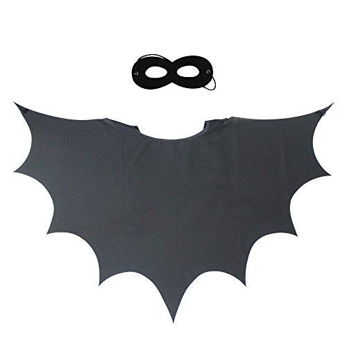 Kinder Superheld Cape und maske für Jungen Mädchen Rolle Cosplay Fancy Dress Up Party Favors (Kleinkind Mädchen Kostüme Superheld)
