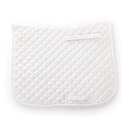 HySPEED Dressage Saddle Cloth - pony - white - smart and durable