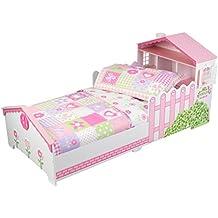 KidKraft Ropa de cama infantil estilo Casa de muñecas de campo