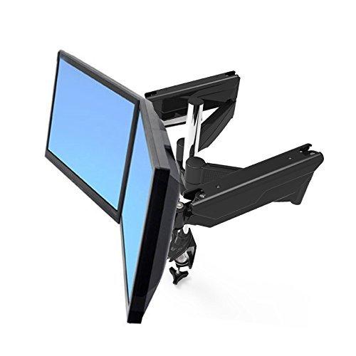 Suptek Dual Arm Schreibtischständer für 13'' - 30'' Monitor mit Federarm MD5422B
