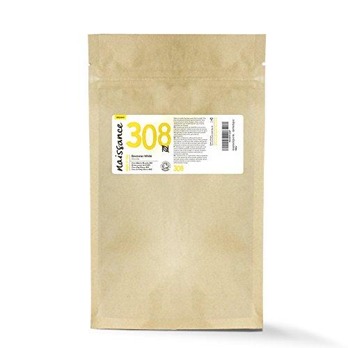 Naissance Weiße Bienenwachsperlen, raffiniert 100g BIO zertifiziert