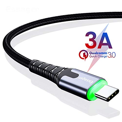 qka usb tipo-c a usb-a 3,0 cavo maschio-3,3 piedi (1 metri) chargeing + trasmissione dati 2 in 1,b