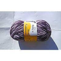 100 tgl Pepita Color Fb.6943, 4-discussioni, Nuovo di zecca 2016, Lana per calze