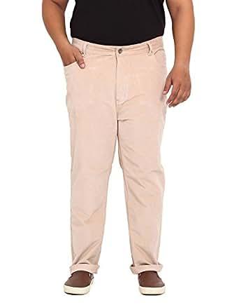 John Pride Men Beige Coloured Jeans (Sizes: 40-54)