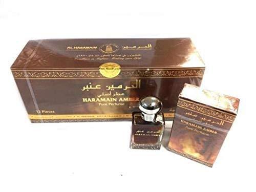 Pack de 12 Parfum AL HARAMAIN AMBER 100% Huile 15ml