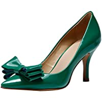 TDA - Sandali con Zeppa (Verde Womens Sandali)