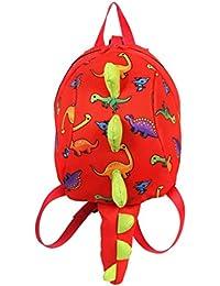 Longra Kindergartenrucksack Kindergartentasche für Jungen und Mädchen Schultasche Cartoon Dinosaurier Mini Baby... preisvergleich bei kinderzimmerdekopreise.eu