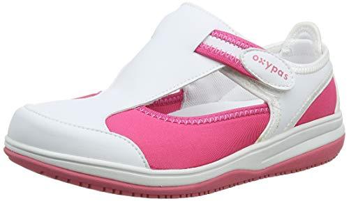 5 UK Oxypas Medilogic Emily Slip-resistant Antistatic Nursing Shoes Lic White 38 EU