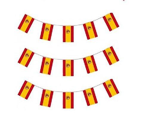 Fahne Flagge Girlande Wimpelgirlande Wimpelkette Gartenparty Dekoration ()