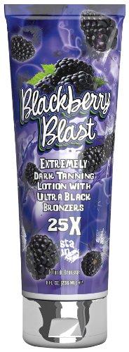 Fiesta Sun Blackberry Blast Extremely Dark Tanning Lotion with Ultra Black Bronzer 236ml