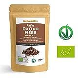 Roh Kakao Nibs Bio 200g | Organic Raw Cacao Nibs | 100 % Rohkost, natürlich und...