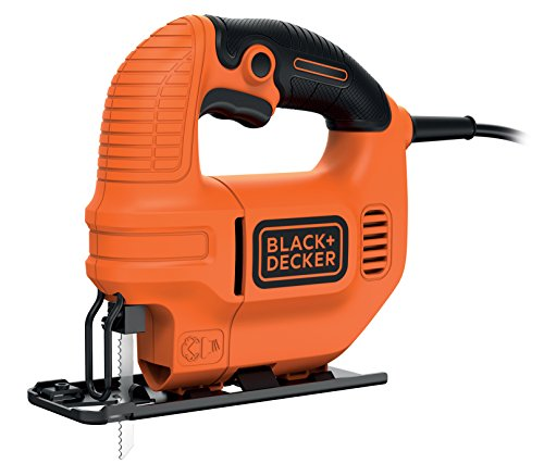 Black and Decker KS501   Sierra de calar  400 W  230 V  color naranja y negro