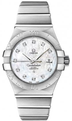 Omega 123.10.31.20.55.001 – Wristwatch women's, stainless steel strap