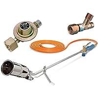 CFH Set abflammgeraet + 5m di tubo + regolatore di pressione + FUSIBILE rottura tubo - Utensili elettrici da giardino - Confronta prezzi