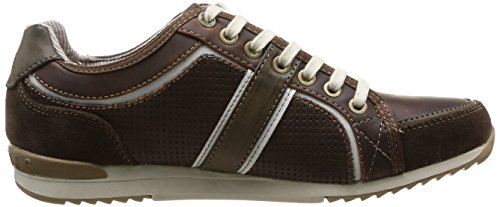 Mustang 4091301, Baskets mode homme Marron (32 Dunkel Braun)