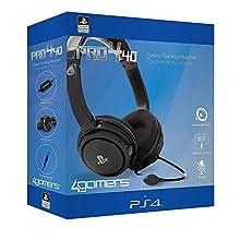 4 Gamers Casq P4 Pro4-40 Black Ps4
