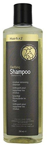 Hairfor2 Haarauffüller Anti-Residue Shampoo 250 ml Wäscht das Haar nach der Anwendung mit Hairfor2 gründlich aus