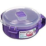 Sistema Klip It Microwave Porridge To Go, 850ml, (Assorted colour)