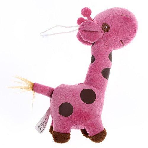Natthom Schöne Giraffe Plüschtier Plüschpuppe Kuscheltier Gefüllte Tier Großes Geschenk Size One Size (Pink ) (Giraffe Gefüllte Große)