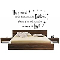 HARRY POTTER ABILITY BJ QUOTE CHILDRENS WALL ART VINYL STICKER HOME DIY home