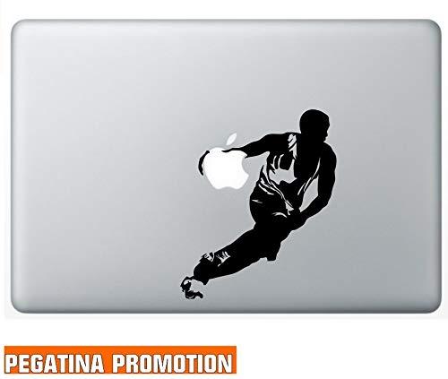 Basketballer Basketball Aufkleber Sticker für MacBook Air 11 13, MacBook Skin 13, 15, 17 Zoll inch Apple Notebook Aufkleber ohne Hintergrund Tattoo Vinyl PEGATINA Apple Mac Hintergrund