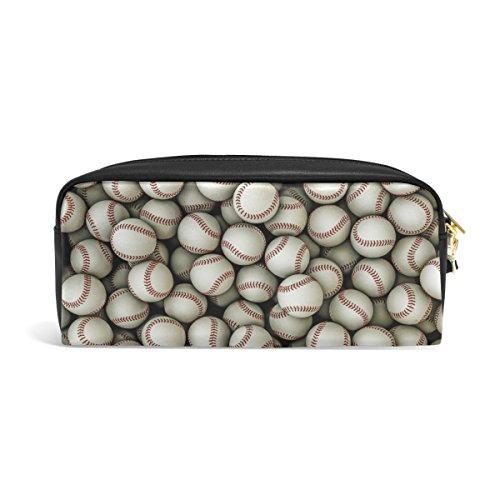 (FANTAZIO Federmäppchen mit Baseball-Muster)