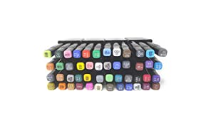 D DUZE Touch Cool Colours Twin Headed Sketch Marker for Manga and Impression Good for Art Lovers and Artists -Set of 48 Pieces (Multicolour, Pack Of 1)