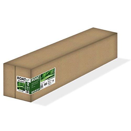 Roat r9145050–Rolle Papier Inkjet 80gr, 914mm x 50mtrs, extra weiß, für alle Arten von Plotter, 4Stück/Box