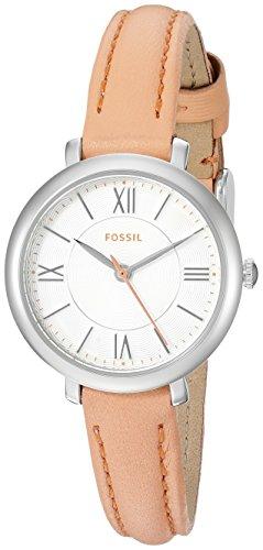 Fossil Mini Jacqueline three-hand Reloj con correa de piel