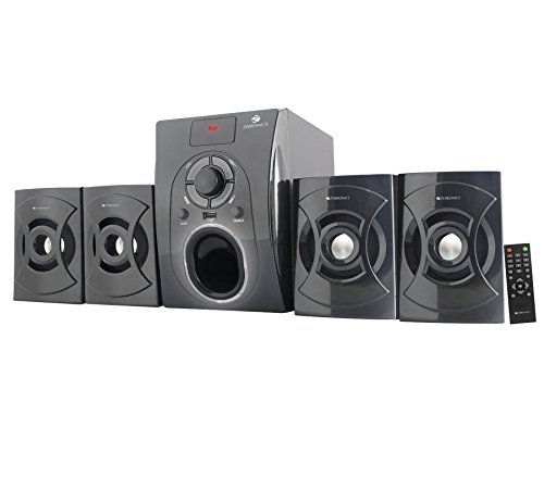 Zebronics Computer Multimedia 4.1 Speaker (bt531ruf)