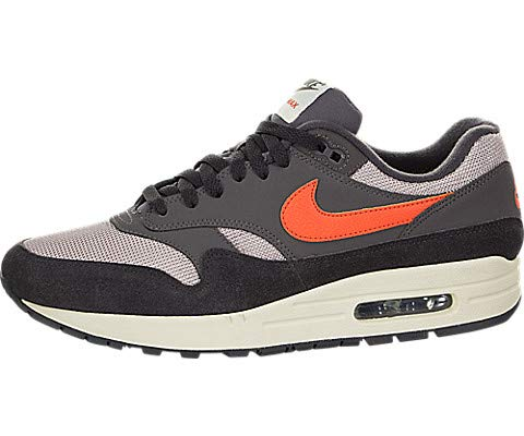 pick up 39762 33109 Nike Air Max 1, Chaussures de Gymnastique Homme, Gris (Oil Grey/Wild