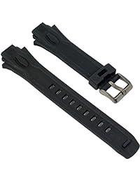 Calypso Watches Ersatzband Uhrenarmband Kunststoff Band für alle Modelle K5615, Farbe:schwarz