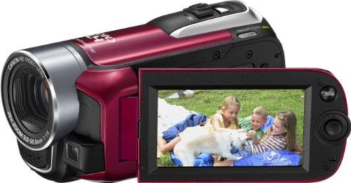 Canon LEGRIA HF R16 AVCHD-Camcorder (Dual-Flash-Memory, 20-fach opt. Zoom, 6,7 cm (2,7 Zoll) Display) rot