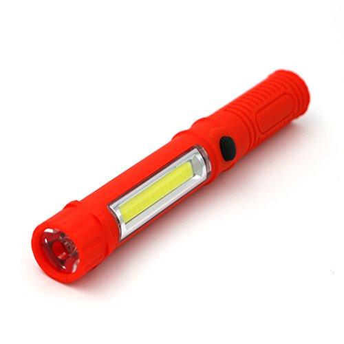 Flashlighx 41g LED Mini Stylo Torche Multifonctions LED Lampe de Poche d'inspection Lampe de Travail Portable Lampe de Poche Poche Poche avec Clip Aimant
