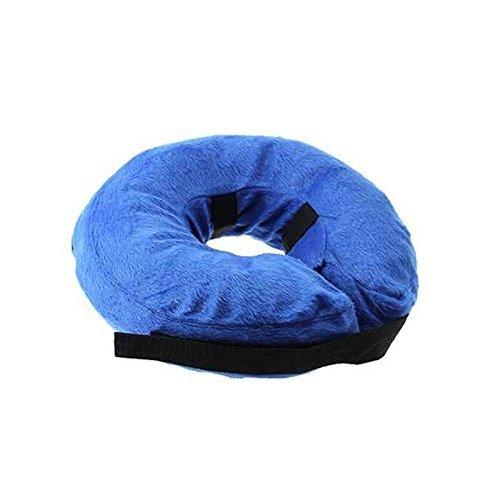 KOBWA Aufblasbare Halskrausen Kragen für Hunde Katze, Inflatable Schutzkragen Hunde Katze, M