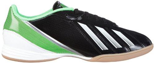 adidas F10 LNJ, Baskets Basses Homme, Vivyel/Black1/Grnzes Black - Schwarz (BLACK 1 / RUNNING WHITE FTW / GREEN ZEST S13)