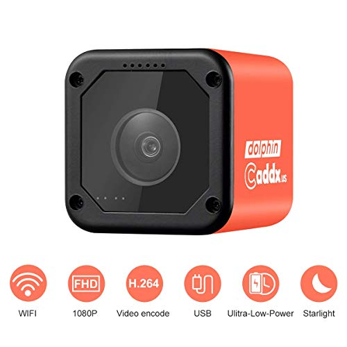 Caddx Dolphin Starlight 1080P Mini Kamera DVR HD Aufnahme WiFi 150 Grad Mini Action Sport Kamera Internet Stream Cam FPV Racing