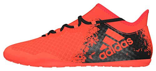 adidas X 16.2 Court, Chaussures de Foot Homme Rouge (Solar Red/core Black/solar Red)
