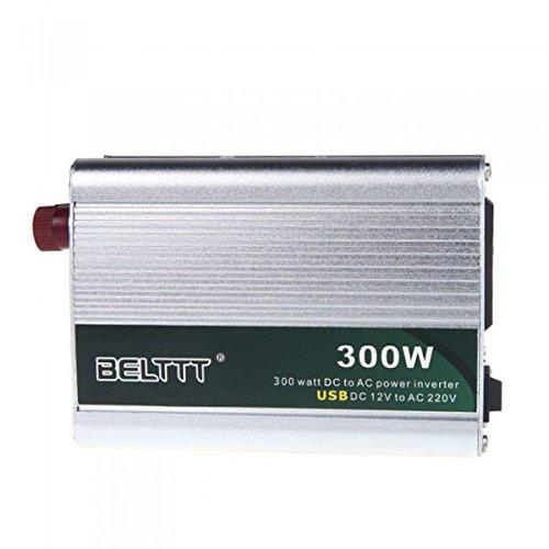 300W DC 12V a 220V AC + USB Portatile Trasformatore di tensione auto Potenza Inverter