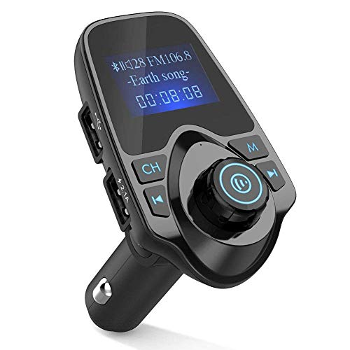 Abilieauty Bluetooth Auto MP3 Player Fm Transmitter Kabelloses Radio Adapter Auto USB Ladegerät