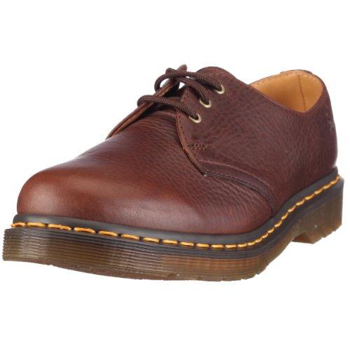 Dr. Martens 11838200 1461 3 Eye Boot, Unisex - Erwachsene Halbschuhe Braun (Brown)