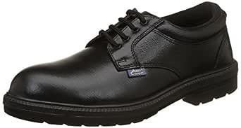 Allen Cooper AC-1469 Executive Safety Shoe, DIP-PU Sole, Black, Size 6