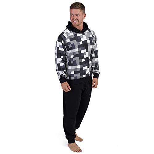 Plus Size Summer Short-sleeved Shorts Plaid Pajama Suit European Mens Cotton Mens Pyjama Sexy Sleepwear Men Pijamas Big Size Durable Modeling Men's Pajama Sets
