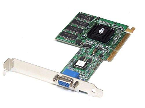 ATI Technologies ATI Rage 128 32MB SDRAM AGP 3.3V VGA Graphics Card/Grafikkarte R128 109-66500-00 (Generalüberholt)
