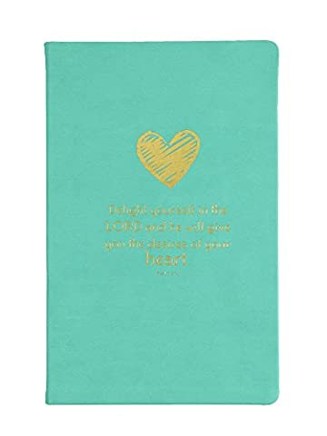 Eccolo World Traveler Christian Collection Bible Journal, 5.5 x 8.5, Delight (CC401C) by Eccolo World Traveler