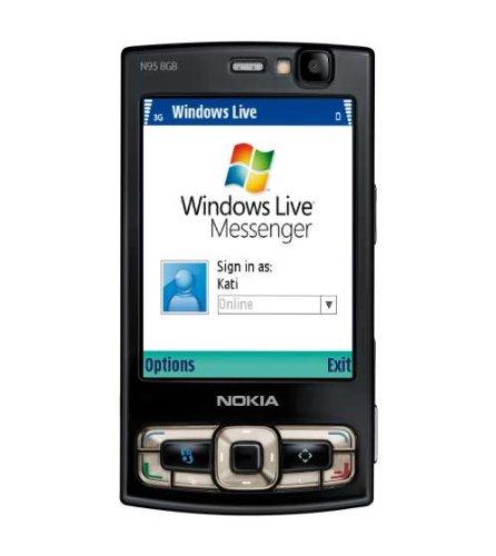 Nokia N95 8Go Smartphone slide 3G photo Bluetooth wifi radio noir