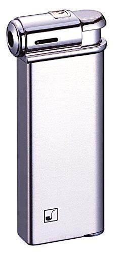 Satin-nickel Art (Sarome Elektronischer Piezo Pfeifenfeuerzeug psp-03Nickel Super Satin)
