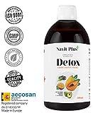 Detox dimagrante | Potente diuretico naturale liquido 500 ml gusto frutti di bosco |...
