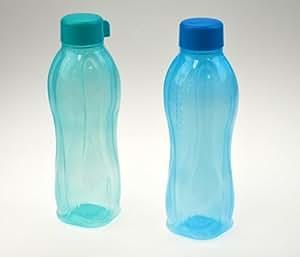 Tupperware Lot de 2 bouteilles EcoEasy 750ml (Bleu/turquoise)
